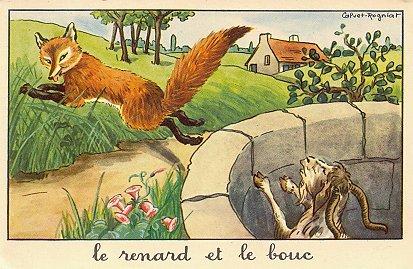 Le renard et la cigogne - Le renard et la cigogne dessin ...